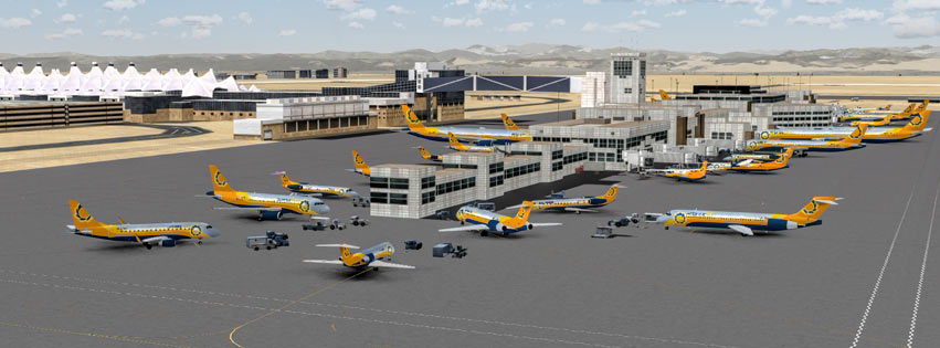 Virtual Airline Denver hub